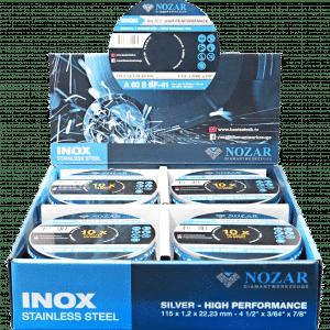 TRENNSCHEIBE INOX IN DER 10ER BOX